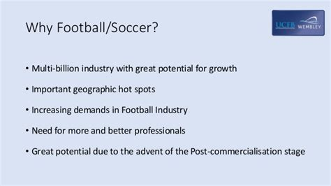 Football Industries Mba by Football Businessgeared Towards Service Science