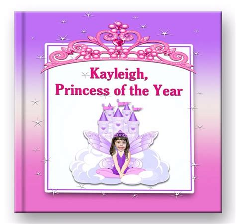 customized picture books personalized princess book for with photo and name