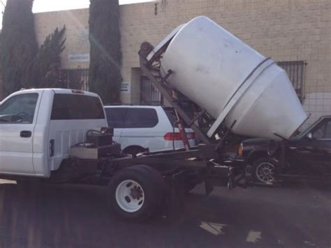 Blender Gmc 002 sell used 2004 gmc 3500 2 yard concrete mixer in california united states