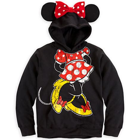 Jaket Sweater Engineer disney minnie mouse ear hoodie for from disney store want
