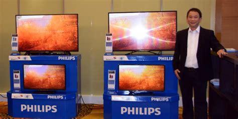 Lu Philips Di Jakarta Philips Siapkan Duo Tv Layar Besar Untuk Indonesia Kompas