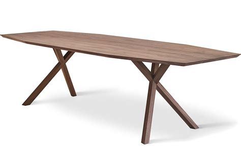 Xy Table xy trapezium dining table hivemodern