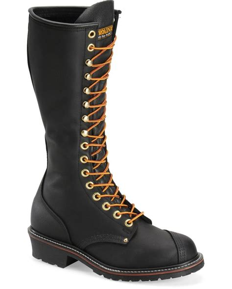 carolina 16 quot eh linesman boot black wear