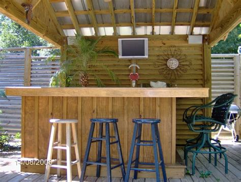 Tiki Hut Tropical Pool Other Metro By Tc Williams Llc Backyard Tiki Bar Ideas