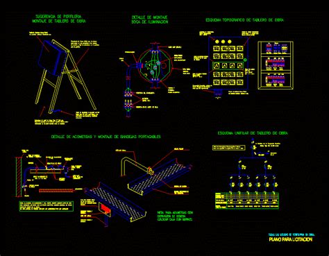 electrical trays  manholes dwg detail  autocad
