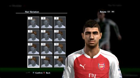 hair make pes 13 pes 2013 new hair styles 2015 pes patch