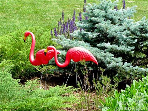 pink flamingo lawn ornaments a flamboyance of flamingos all across the world our photo