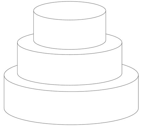 cake decorating templates printable 7 best images of wedding cake template printable 2 tier