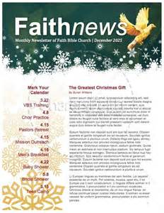 christian newsletter templates free 5 free newsletter templates for church