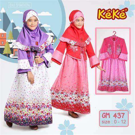 Gamis Anak Keke Gm busana muslim keluarga keke busana gamis anak keke gm 422 pink 0821 3898 4178 jual baju gamis