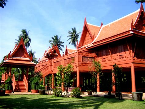 thai homes home styles thai house style decor