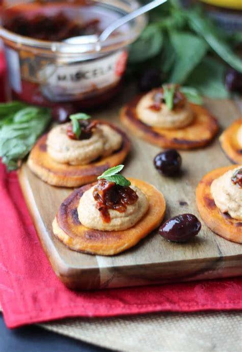 vegan appetizer recipes for a vegan sundried tomato sweet potato bites easy gluten