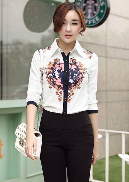 Baju Wanita Keren baju kemeja wanita motif keren 2015 myrosefashion