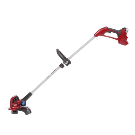 toro 12 in 24 volt lithium ion shaft trimmer and edger