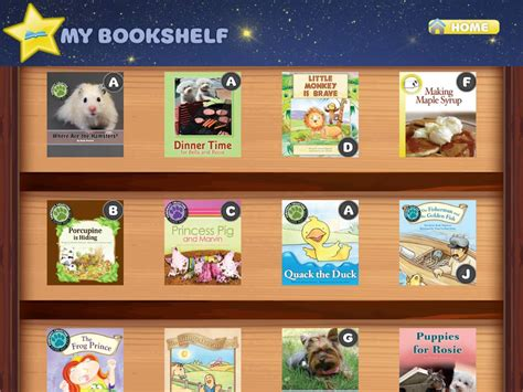 level labels on books in your bookshelf who can read who