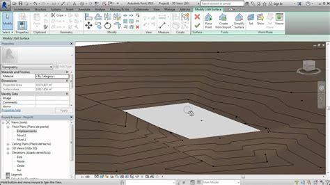 tutorial revit terreno como nivelar terrenos en revit mediante puntos tutorial