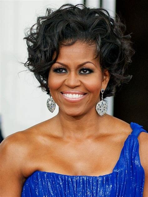 k michelle curly hairstyle 239 best images about first lady michelle obama on