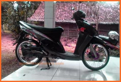 Modifikasi Mio Sporty 2007 by Modifikasi Mio Sporty Putih Simple 2008 Modifikasimotorz