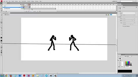 tutorial in flash stick figure flash tutorial how to animate punches