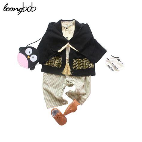 Set Jumpsuit Fenny 1 2 Pcs Baby Romper Set Boys Japanese Jumpsuit Cloak