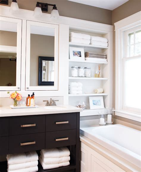 Bathroom Open Shelves Open Shelving For The Bathroom The Unity Of Form And Function Decozilla
