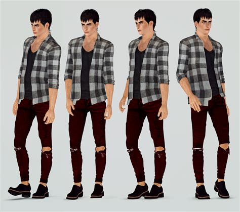 sims 3 male poses simple male poses by andhisrabbits