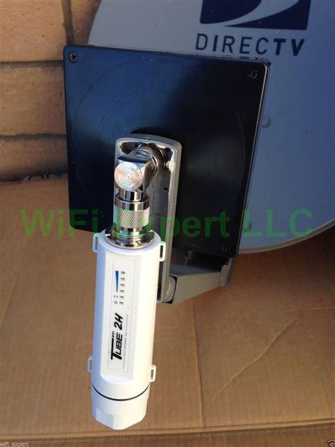 dish biquad wifi antenna alfa  poe tube  booster