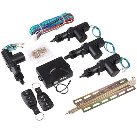 Central Lock Set remote car central lock locking keyless entry kit