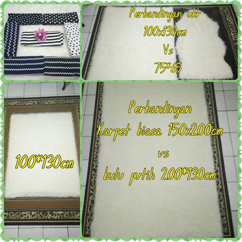 Karpet Bulu Untuk Mobil jual karpet bulu putih karpet bulu korea adiel jaya