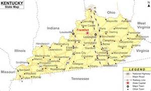 Kentucky Usa Map by Kentucky State Map Related Keywords Amp Suggestions