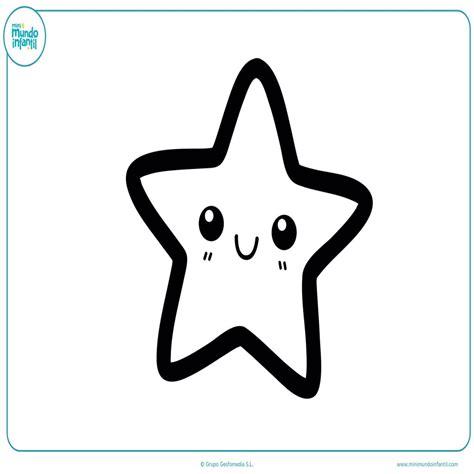 imagenes para colorear estrellas estrella de mar para imprimir dibujo estrella para
