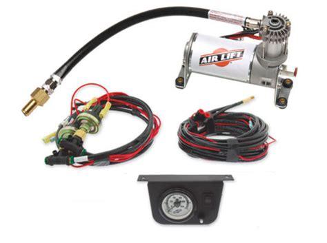 air lift 25655 quot load controller i quot air compressor kit single suspensionconnection