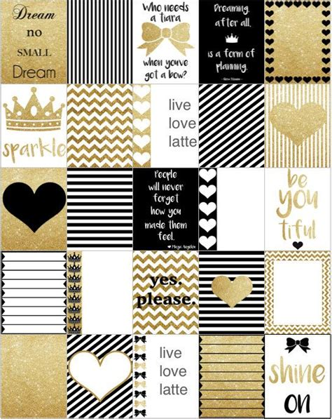 printable gold stickers 127 best images about agenda on pinterest free printable