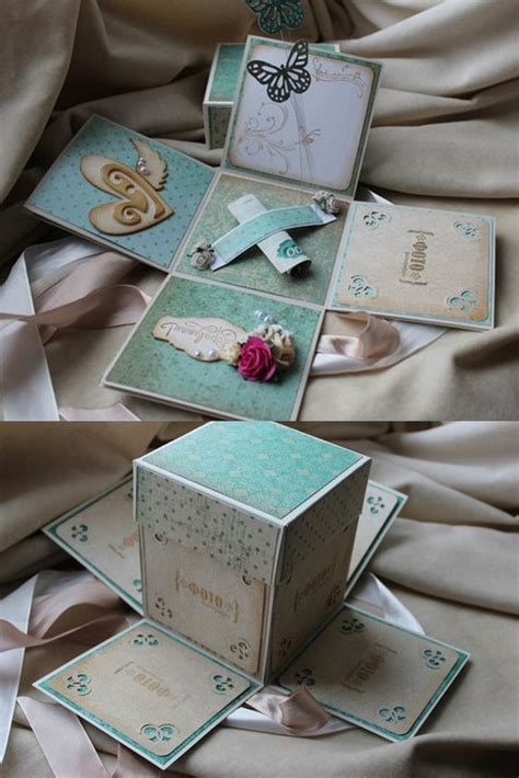 Explosion Box Blue Cupcake 78 best images about explosion box on