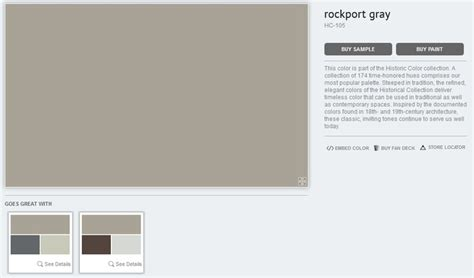benjamin rockport gray spalvos paint colors colors and benjamin