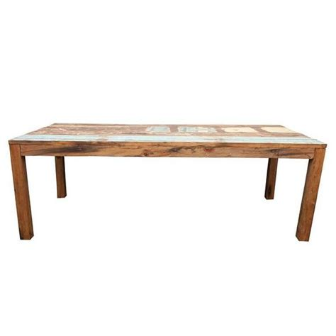 reclaimed fishing boat dining table for sale at