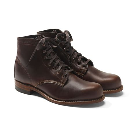 1000 mile boots lyst wolverine 1000 mile boot in brown for