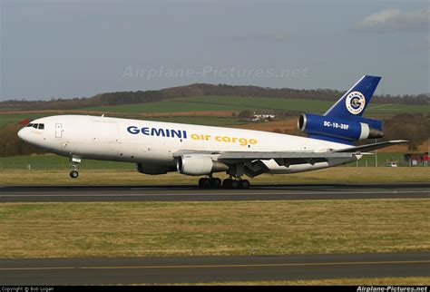 n600gc gemini air cargo mcdonnell douglas dc 10f at prestwick photo id 160872 airplane