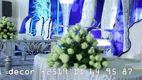 Ethiopian wedding decorations by Dj Sami   YouTube