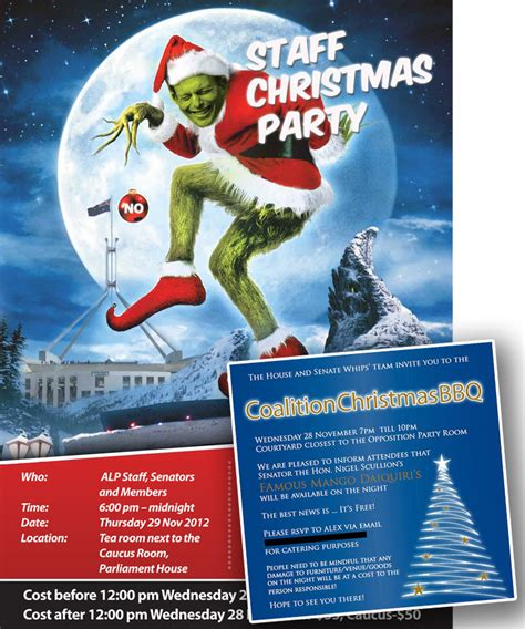 how the grinch stole christmas in canberra