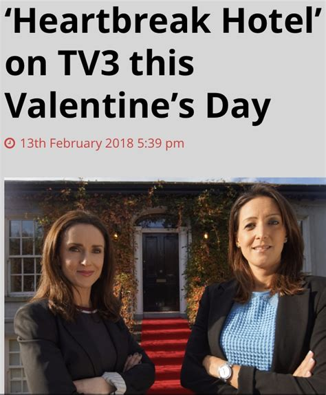 what is on tv3 tonight my tv show heartbreak hotel is out on tv3 tonight at 9pm