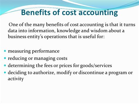 Benefits Of Mba In Finance by Cost Accoounting Managerial Accounting Financial Accounting