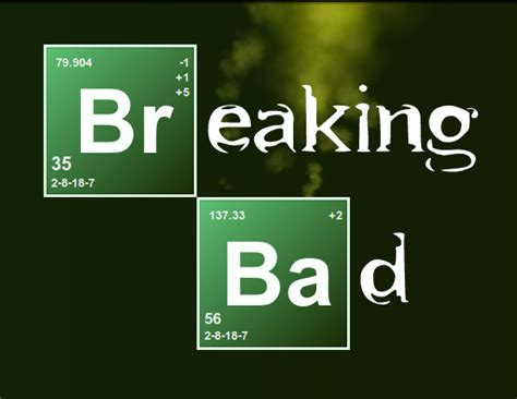 Breaking Bad by Breaking Bad Logo With Css Html Svg Js Exle