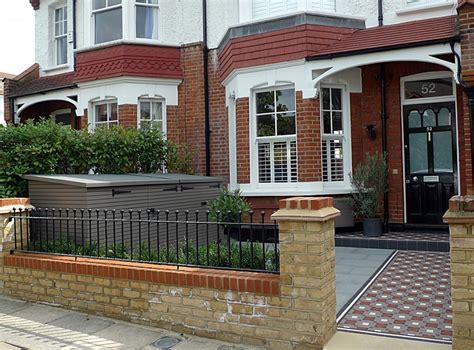 Garden Tiles Ideas Mosaic Tile Path Yellow Brick Front Garden Wall Granite Paving Bin Bike Metal
