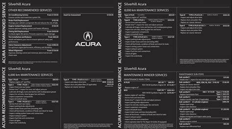 acura rdx maintenance schedule calgary acura suggested maintenance schedule changes