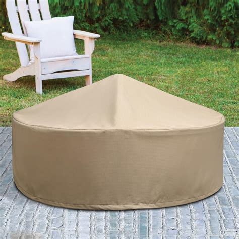 diy pit snuffer patio armor ripstop pit cover sf46618 the home depot