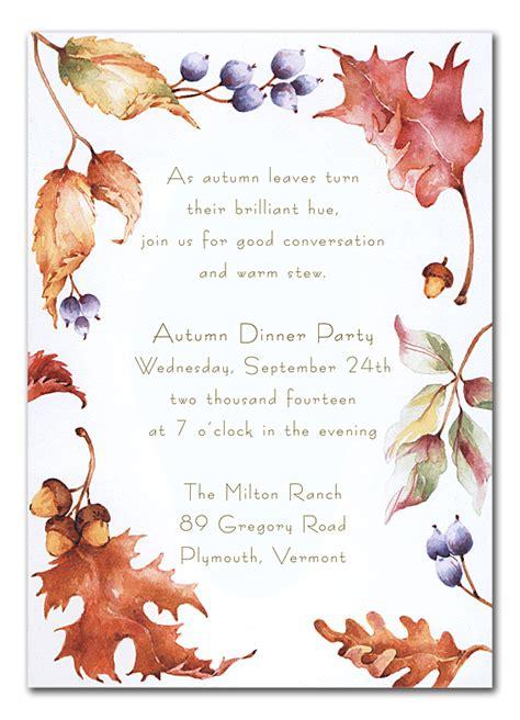 invitation for farewell sle fantastic fall by invitation consultants tx rff804tx 8 686