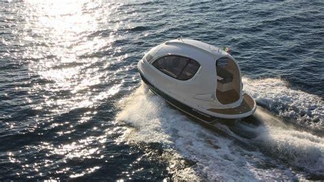 mini jet boat crash italians condense a yacht into a teeny weeny pod of luxury