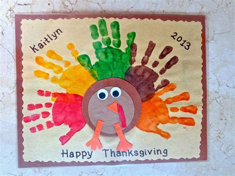 thanksgiving craft terrific preschool years thanksgiving placemats