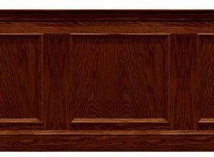 Mahogany Wainscoting Panels by Dolls House Wainscot Quality Panel 1 12th Or 1 24th